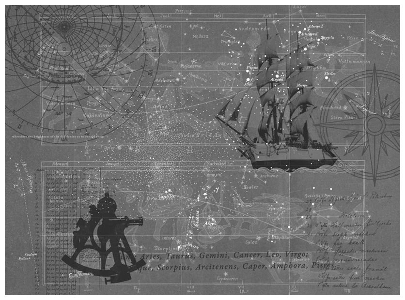 Mr Perswall Star Map Mural - Product code: P112601-8
