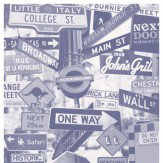 Mr Perswall Street Signs Mural - Product code: P112702-4
