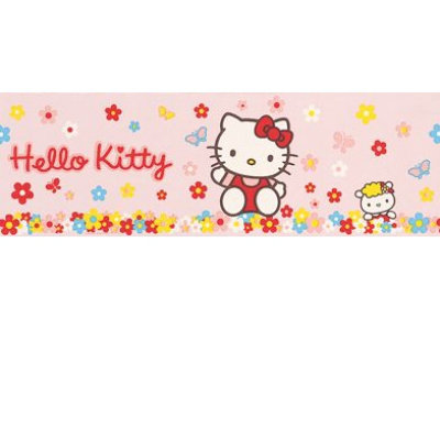 hello kitty wallpaper border. Albany Wallpaper Hello Kitty