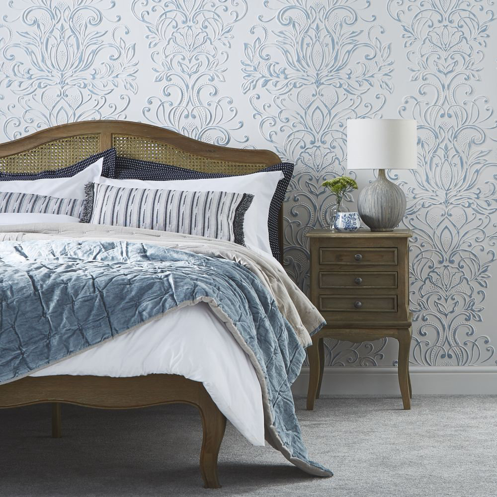 Lincrusta Cleopatra Paintable Wallpaper - Product code: RD1962FR