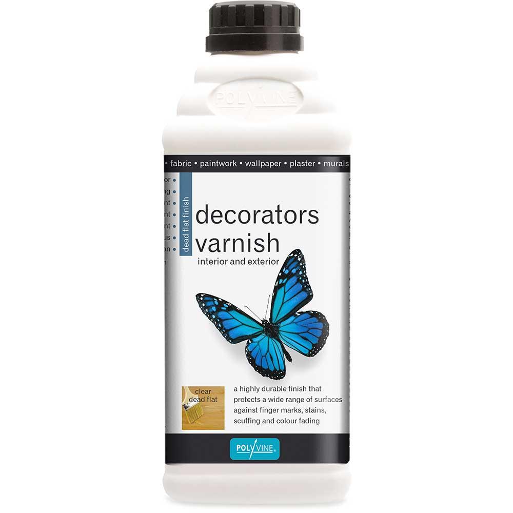 Polyvine Polyvine Dead Flat Acrylic Decorators Varnish Tool - Product code: HC4115N