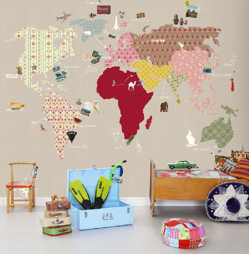 Mr Perswall Whole Wide World Mural - Product code: P120202-6