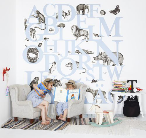 Mr Perswall ABC You Mural - Product code: P120401-6