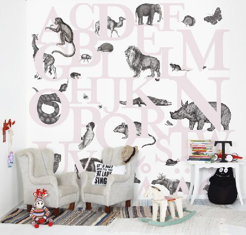 Mr Perswall ABC You Mural - Product code: P120402-6