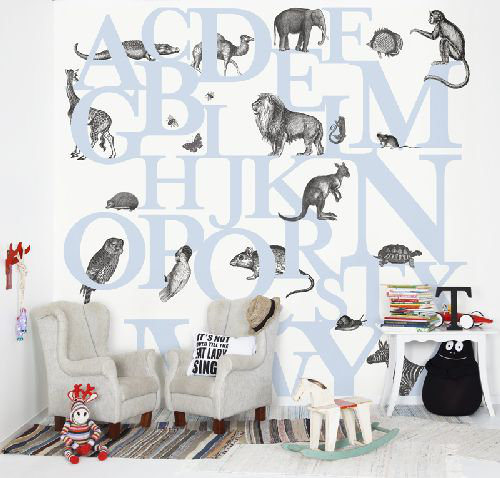 Mr Perswall ABC You Mural - Product code: P120404-6