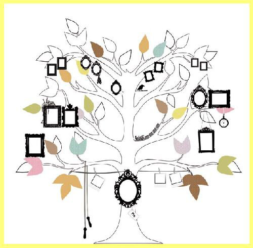 Mr Perswall Me Tree Mural - Product code: P121201-W