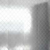 Erica Wakerly Argyle Silver / White Wallpaper - Product code: ARG S/W