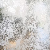 Erica Wakerly Hothouse Silver white Wallpaper