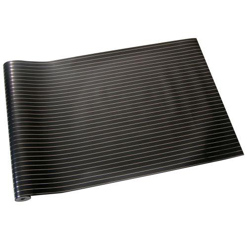 Erica Wakerly Pinstripe Silver / Black Wallpaper - Product code: PIN S/B