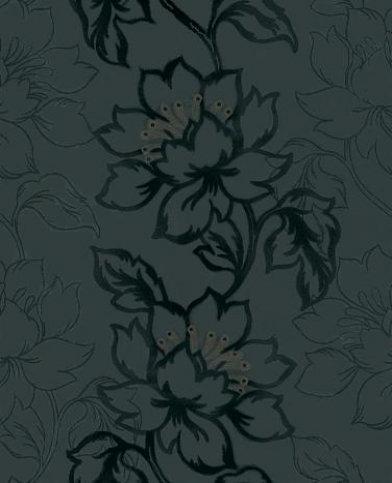 Image of Kandola Wallpapers Amati Flocked Wallpaper crystallised , W1480/03/246
