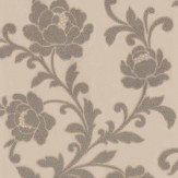 Kandola Kelway Beaded Wallpaper  Light Gold / Silver