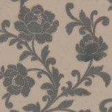 Kandola Kelway Beaded Wallpaper  Metallic Taupe - Product code: W1484/02