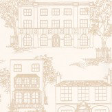 Little Greene Hampstead Cloister Beige Wallpaper