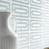 Osborne & Little Kikko Trellis Wallpaper