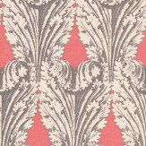 Osborne & Little Accademia Coral / Silver Wallpaper