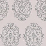 Osborne & Little Zecca Silver / Lilac Wallpaper