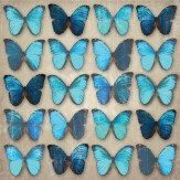 Arthouse Teal Butterflies Art