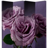 Arthouse Plum Roses Screen Room Divider
