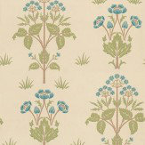 Morris Meadow Sweet Blue / Green / Neutral Wallpaper - Product code: 210348