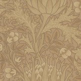 Morris Artichoke Brown Wallpaper - Product code: 210354