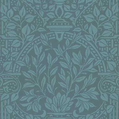 Morris Garden Craft Blue Wallpaper - Product code: 210357