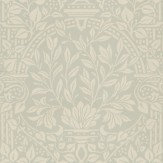 Morris Garden Craft Soft Grey Wallpaper - Product code: 210358