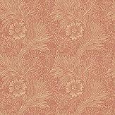 Morris Marigold Soft Red Wallpaper