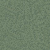 Morris Branch Green Wallpaper - Product code: 210374