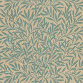 Morris Willow Blue Green Wallpaper - Product code: 210382