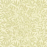 Morris Willow Soft Green / Cream Wallpaper - Product code: 210383