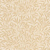 Morris Willow Peach / Cream Wallpaper - Product code: 210385