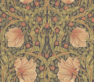 Morris Pimpernel Wallpaper main image