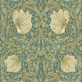 Morris Pimpernel Green Wallpaper - Product code: 210389