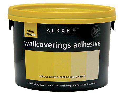 Albany Super Smooth Wallcovering Adhesive (Y) - by Wallpaperdirect
