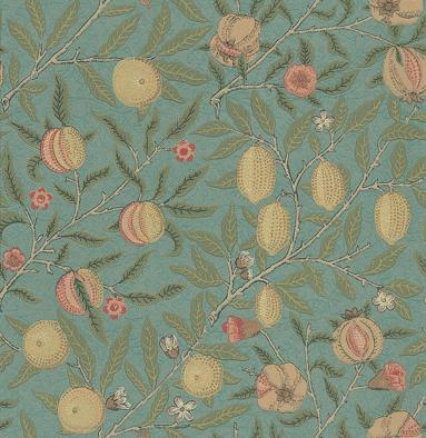 Morris Fruit Green / Multi Wallpaper - Product code: 210396