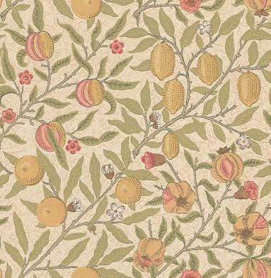 Morris Fruit Neutral / Multi Wallpaper - Product code: 210395