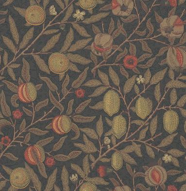 Morris Fruit Metallic / Multi Wallpaper - Product code: 210397
