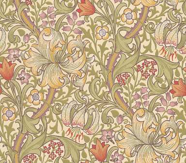 Morris Golden Lily Wallpaper main image