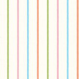 Designers Guild Rainbow Stripe Multi Wallpaper - Product code: P568/06