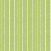 Designers Guild Sundae Stripe Apple Green Wallpaper