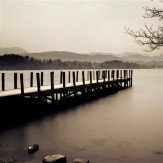 Arthouse B&W Jetty printed canvas Art - Product code: 002086