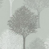 Harlequin Entice Grey / White / Duck Egg Wallpaper