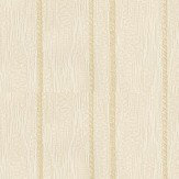 Albany Flame Stitch Stripe Cream Wallpaper