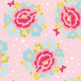 Coordonne Big Rose Pink Wallpaper