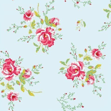 Coordonne Winter Poppies Blue Wallpaper main image