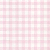 Coordonne Check Pink Wallpaper