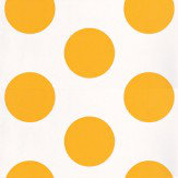 Coordonne Dots Yellow Mustard Yellow / White Wallpaper