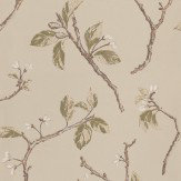 Prestigious Shade Willow Gold / Silver / Beige Wallpaper - Product code: 1943/629