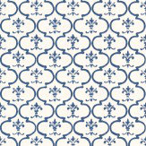 Thibaut Darien Navy / White Wallpaper