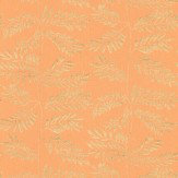 Thibaut Hana Orange Wallpaper